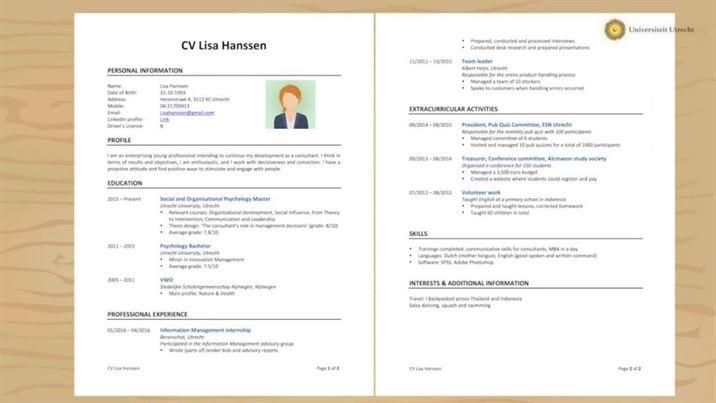 Etkili Bir CV'de Olması Gerekenler Nelerdir?