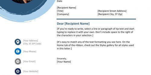 Mavi Resimli CV Formu