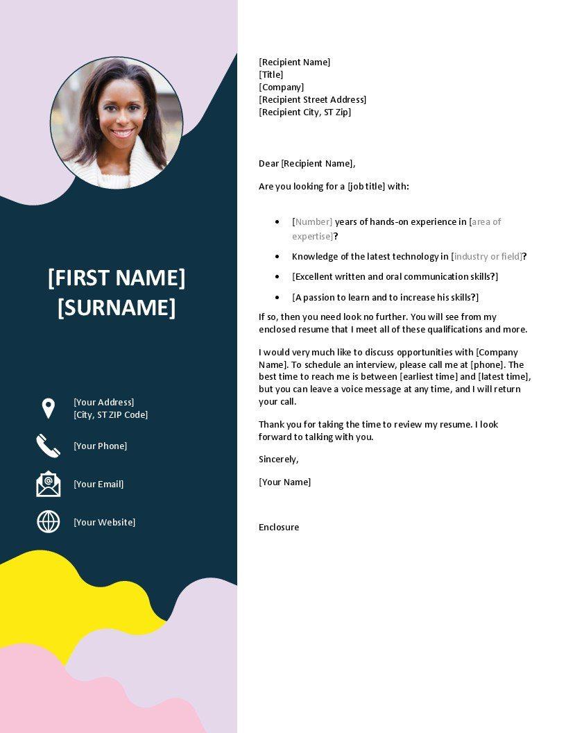 Resimli Güzel CV Örneği